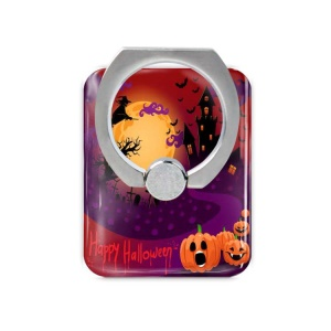Halloween Series Phone Kickstand Finger Grip Ring for iPhone 6s Plus / Samsung Galaxy Note 7 N930 - Scary Halloween Night