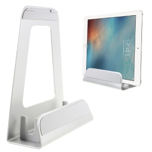 COTEETCI Aluminum Alloy Laptop Stand for 10-15 Inch MacBook Notebook Tablet - Silver