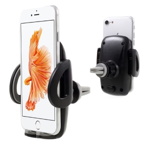 Universal Air Vent Car Mount Holder for iPhone 7 Plus/Samsung Galaxy Note7, Width: 55-95mm (C81+H89)