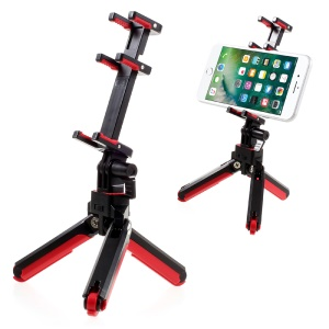 LIMONADA T2 Flexible Robot Tripod Stand for Cellphone Tablet Camera - Black / Red