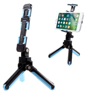 LIMONADA T2 Flexible Robot Tripod Mount Holder for Cellphone Tablet Camera - Black / Blue