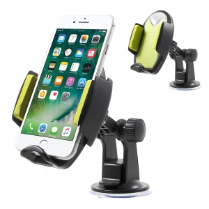 UnUniversal Rotatable Car Mount Desktop Phone Holder Cradle for iPhone 7 Plus / Samsung Galaxy Note7 - Green