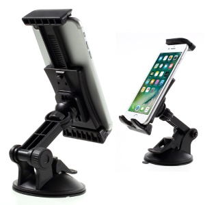 Suction Cup Car Mount Rotating Phone Holder Cradle HX-M-X24 for iPhone Samsung