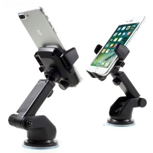 One Touch Car Mount Universal Phone Holder for iPhone 7 Plus/7, Width: 58-90mm