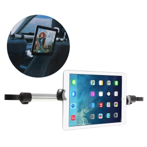 Full Rotary Car Headrest Mount Holder Lever for iPad Pro 12.9 Etc, Clamp Width: 240 x 410mm