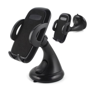 Universal Suction Cup Stand Car Windshield Holder for iPhone 7/7 Plus, Width: 45-88mm