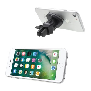 Universal Magnetic Car Air Vent Mount Holder for iPhone Samsung Smartphone GPS G02+H93