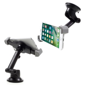 C83+H101 Universal Suction Cup 360-degree Rotary Car Mount for iPhone 7 Plus Smartphone 3.5 inch - 6 inch
