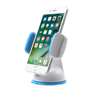 D9ELEMENT Rainbow Suction Cup Phone Holder Car Mount Width: 47-85mm - White