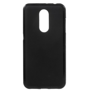 2-Side Matte Anti-fingerprint TPU Case Cover for ZTE Blade A910 - Black
