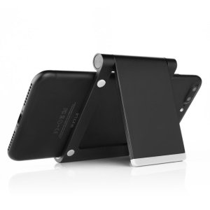 SEENDA Metal Cell Phone Tablet Desktop Stand for iPhone 7/iPad mini 4 Etc (IPS-Z26) - Black