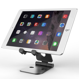 SEENDA Metal Folding Bracket for iPhone iPad Samsung etc Smartphones Tablets - Black
