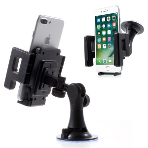 2-in-1 Practical Car Windshield and Air Vent Phone Mount Holder Cradle