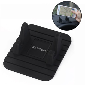 JOYROOM Universal Silicone Desktop Car Mount Stand (ZS119) for iPhone Samsung - Black