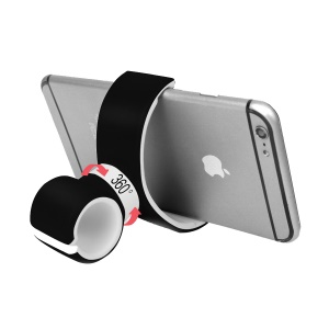 C-shape Multifunctional Bicycle Car Mount Holder Air Vent Cradle for iPhone 7 Plus Samsung Galaxy S7 - Black