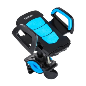 JOYROOM Bike Handlebar 360 Degree Rotary Mount Cradle for iPhone 7 / Huawei Mate 9, Width: 55-105mm - Blue