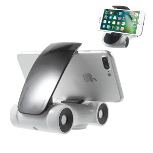 360-Rotation Car Shape Mobile Phone Desktop Holder Car Mount for iPhone Samsung Sony Huawei Etc