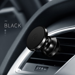 USAMS US-ZJ018 Metal Magnetic Car Air Vent Mount Holder - Black