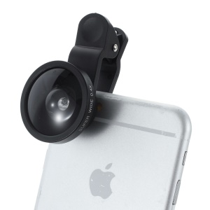 Wide Angle 0.4X Camera Lens for iPhone Samsung etc