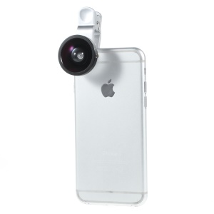 LIEQI LQ-002 Mini Clip-on Camera Lens 0.4X Super Wide for Mobile Phone iPad Notebook PC