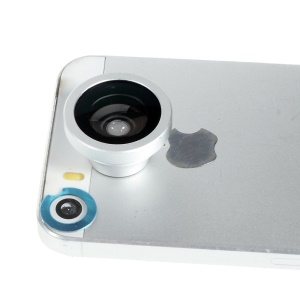 A-8002 Magnetic 180-degree Fish Eye Lens for iPhone 6 Plus/6/5s iPad Samsung Sony