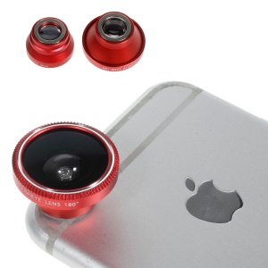 Magnetic Detachable Fish Eye + Wide Angle + Macro Lens for iPhone 6 Plus/6/5s iPad Samsung Sony