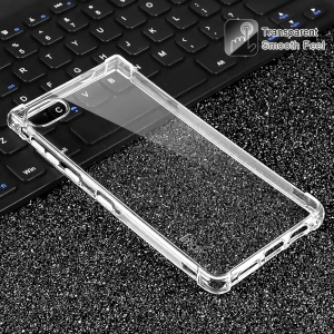IMAK Skin Feel Anti-drop TPU Shell + Explosion-proof Screen Film for BlackBerry Motion - Transparent