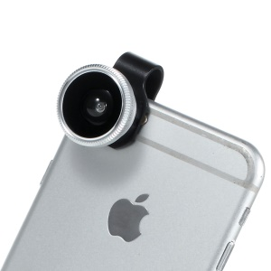 ib-F8002 Universal Clip Fish Eye Lens for iOS and Android Smartphones