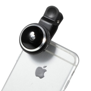 235 Degree Universal Clip Fish Eye Lens for iOS and Android Smartphones