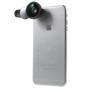 Super Wide Angle 0.4X Camera Lens for iPhone Samsung etc - Black