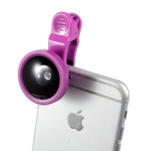 T-002 Selfie Universal Camera Lens for iPhone Samsung HTC Huawei Etc - Rose