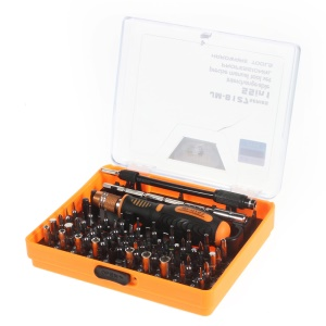 JAKEMY JM-8127 Interchangeable Magnetic 54-in-1 Precision Screwdriver Set Repair Tools for Smartphone PC