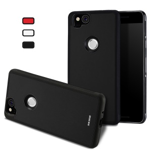 DUX DUCIS Pocard Series PU Leather Skin TPU Case for Google Pixel 2 - Black