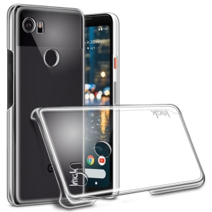 IMAK Crystal Case II Scratch-resistance Clear See-through Hard Case for Google Pixel 2 XL/XL2