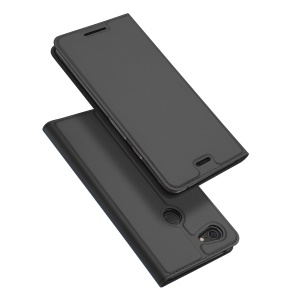 DUX DUCIS Skin Pro Series Leather Stand Case for Google Pixel 3 XL - Grey