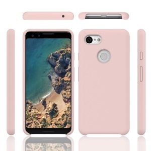 Liquid Silicone Cell Phone Case for Google Pixel 3 XL - Pink