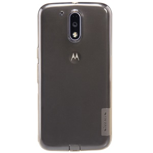 NILLKIN 0.6mm Nature TPU Gel Protective Shell for Motorola Moto G4 Plus / Moto G4 - Brown