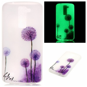 Luminous Glow TPU Phone Case for Motorola Moto G4 Play - Purple Dandelion