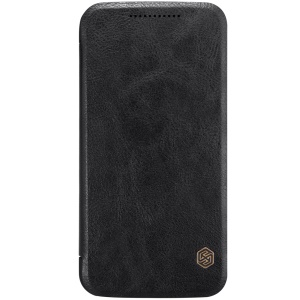 NILLKIN Qin Series for Motorola Moto G4 Plus/Moto G4 Card Holder Leather Protective Case - Black