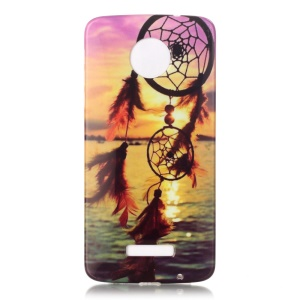 Soft IMD TPU Case for Motorola Moto Z Force - Dream Catcher