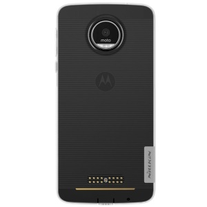 NILLKIN 0.6mm Nature TPU Case for Motorola Moto Z - White