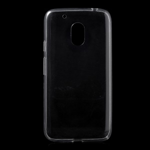 Ultra-thin TPU Back Case Cover for Motorola Moto G4 Play - Transparent
