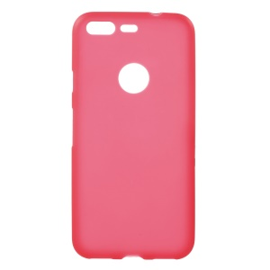 Anti-fingerprint Frosted TPU Phone Case for Google Pixel 5.0 inch - Red