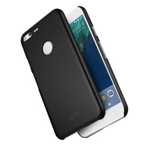 LENUO Silky Touch Rubber Coating PC Mobile Phone Case for Google Pixel XL - Black