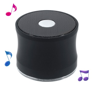 EWA A109 Bluetooth Wireless Stereo Speaker w/ Mic Support TF Card Aux-input - Black