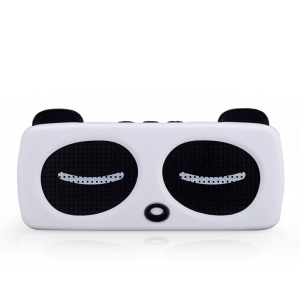 MOMAX Music Panda Detachable Mini Wireless Bluetooth Speaker for iPad Air 2, iPhone 6, Samsung Galaxy Note 4, etc - White