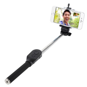 Black AURA Bluetooth Handheld Self-portrait Monopod for iOS & Android iPhone Samsung HTC Sony etc