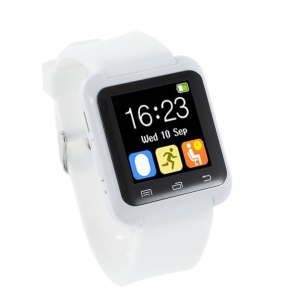 U80 Health Sport Smart Bluetooth Watch for Android Phone - White