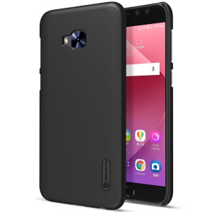 NILLKIN Super Frosted Shield Plastic Hard Phone Shell Case for Asus Zenfone 4 Selfie Pro ZD552KL - Black