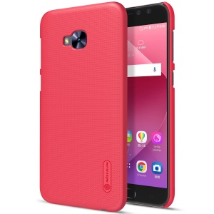 NILLKIN Super Frosted Shield Plastic Hard Phone Case for Asus Zenfone 4 Selfie Pro ZD552KL - Red